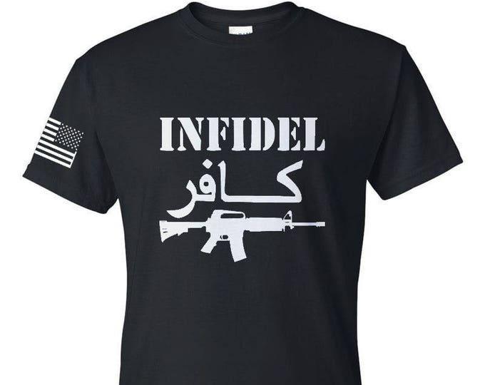 Military Shirt - 2nd Amendment - 2A - Three Percenter - Gym Shirt - Workout Shirt - Mens Shirt - Womens Shirt