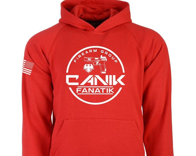Canik Fanatik Hoodie - Canik Fanatik Firearm Group - Men's and Women's Hoodie - Canik TP9 Series - Second Amendment