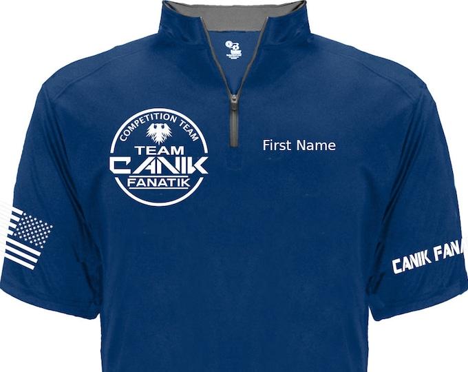 Team Canik Fanatik Jersey - 1/4 Zip v04 - Competition Jersey - Canik Fanatik Shirt - Competition Team - Shooting Sports