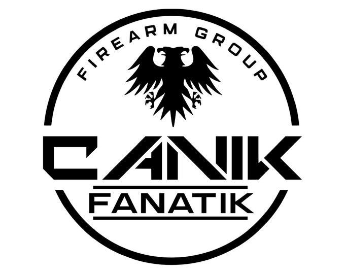 Canik Fanatik - Firearm Group - Canik Fanatik Decal - Vinyl Decal - TP9SFX - Automotive Decal - Window Decal - Wall Decor - Free Shipping