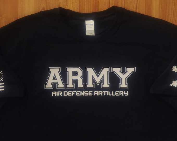 Army Shirt - Air Defense Artillery - Mens and Womens Army Shirt - Army National Guard - Army Veteran -  Army Gift Idea