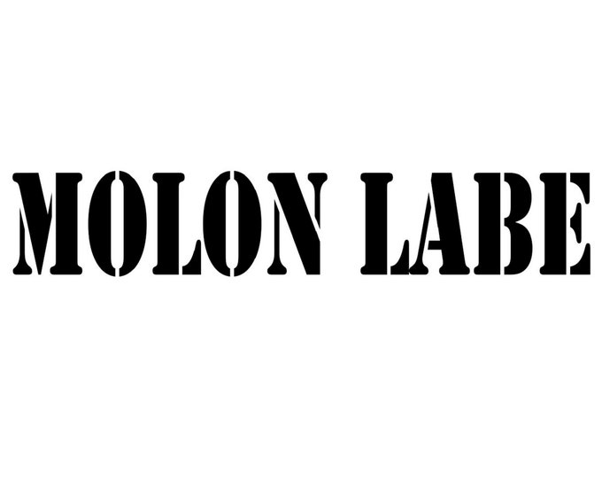 """Vinyl Decal - Molon Labe - 2.25"""" Height (multipe widths)- 2nd Amendment - Off Road - Auto Decal - Window Decal - Outdoor - Free Shipping"""