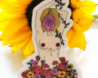 Grow and Bloom Sticker
