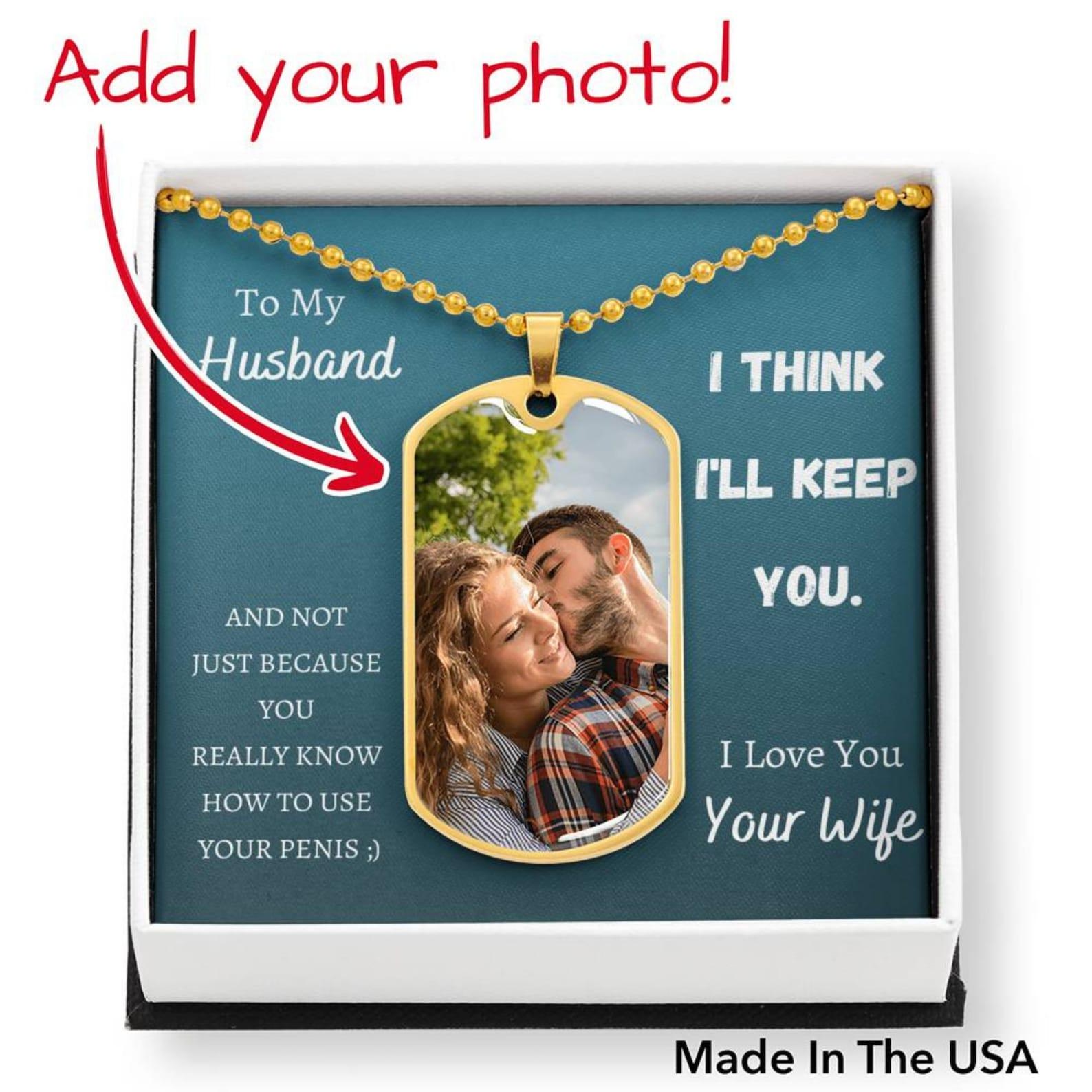 Sexy Vatertag Halskette Geschenk für Ehepartner freche | Etsy