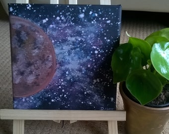 Acrylic 'Red Planet'
