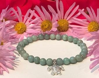 """Amazonite bracelet """"Green Amazon"""""""