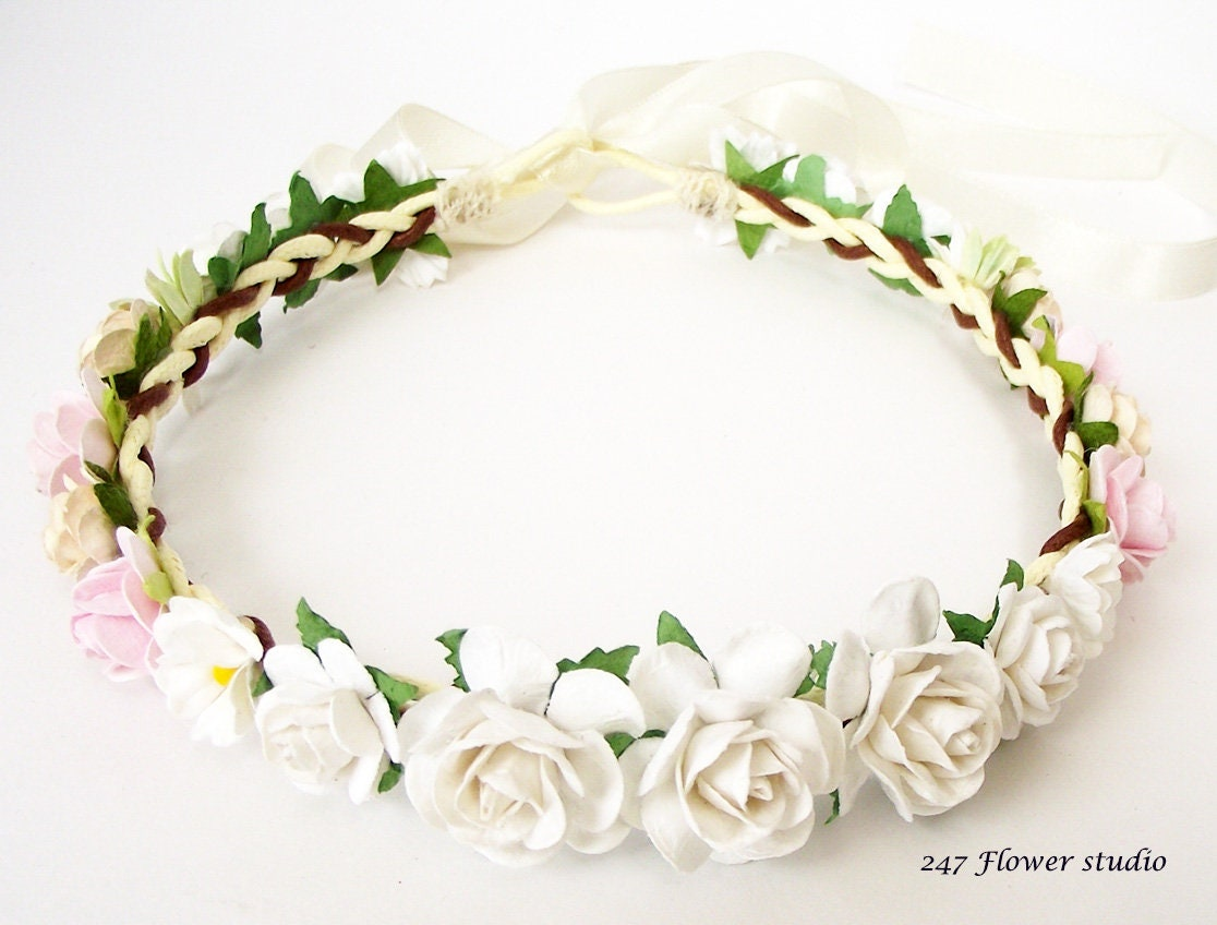 Special Price Little Girl Flower Headband Flower Girl Etsy