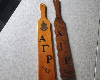 Large Vintage Fraternity Paddle Sigma Phi Delta