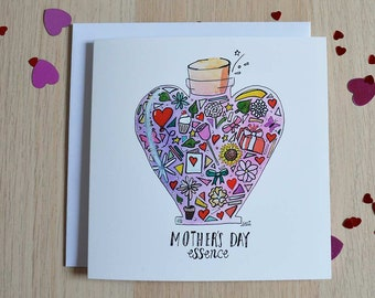Mother's Day essence greetings card