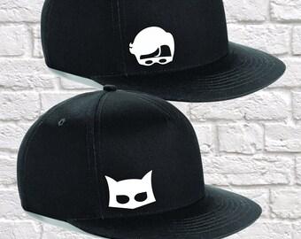 abe7c3c19 Batman trucker hat | Etsy