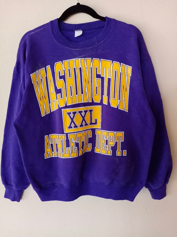 Vintage Washington Athletic Rugby Sweatshirts