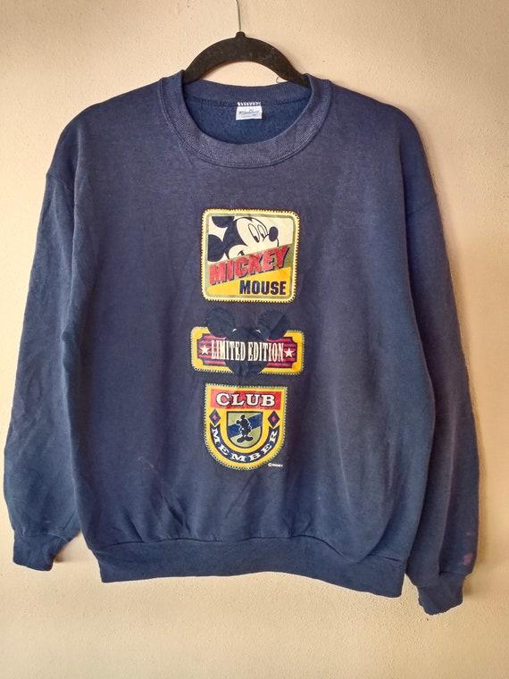 Vintage 80s Mickey Mouse Big Logo Sweatshirt