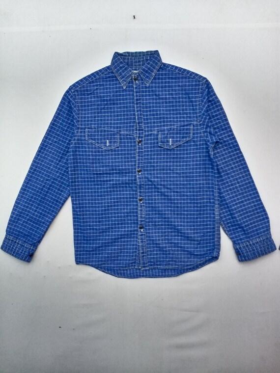 Vintage Eternal Checkered Flannel Shirt