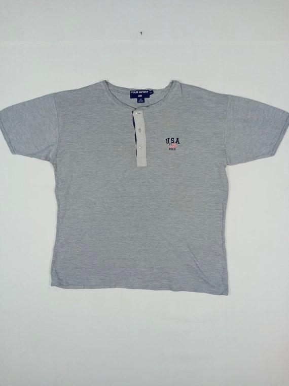 Vintage Polo Sport USA 3 Button T-shirt