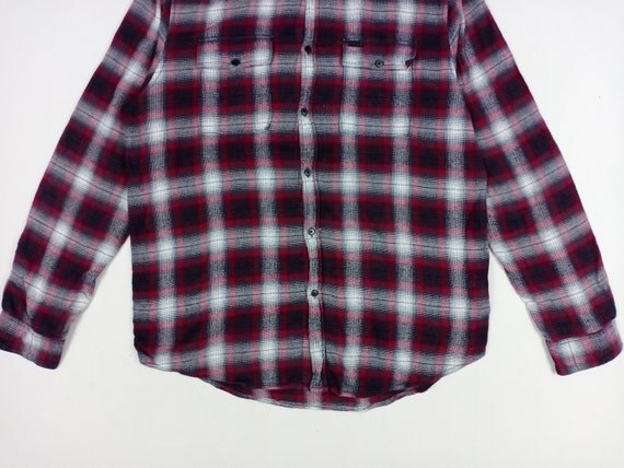 Rare! Krew Shadow Checkered Flannel Shirt