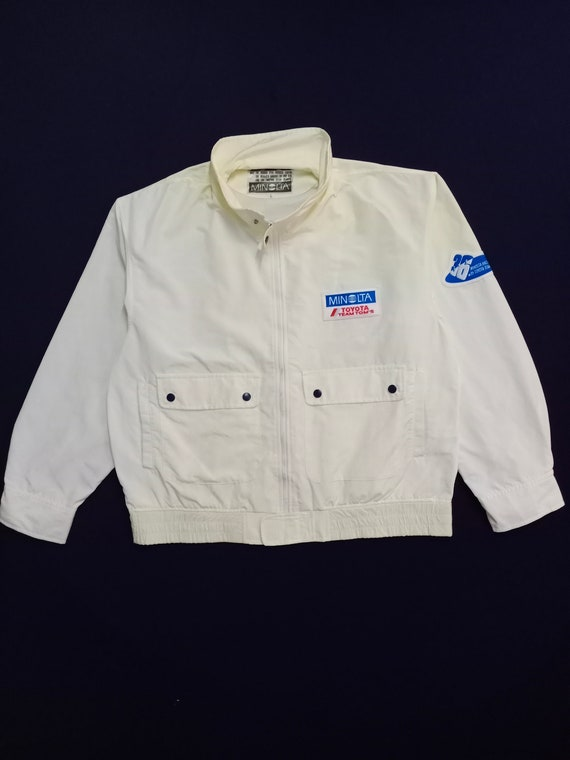 Vintage Minolta Toyota Light Tactical Jacket