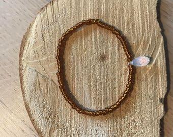 Swarovski briolette elastic bracelet