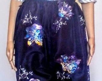 Extravagance taffeta skirt