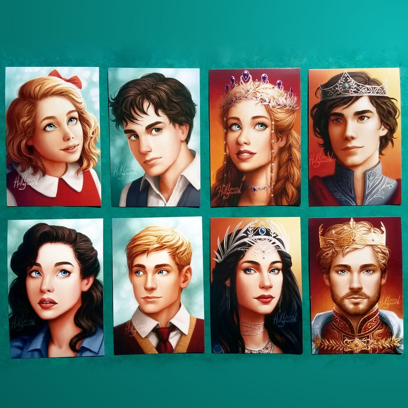 The Chronicles of Narnia  Pevensie Portrait Postcards image 0