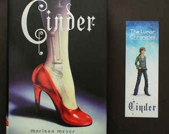 Linh Cinder Double Sided Bookmark - The Lunar Chronicles