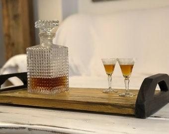 Fancy Wooden Tray   Elegant   Mustard   Coffee   Whiskey   Tea   Business   Cognac   Executive   Corporate   Secretary   Handmade   Serve  