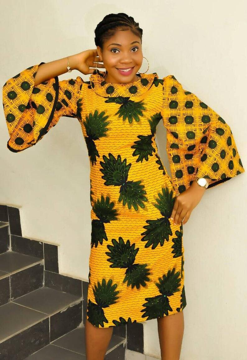 Bling Yellow Dress