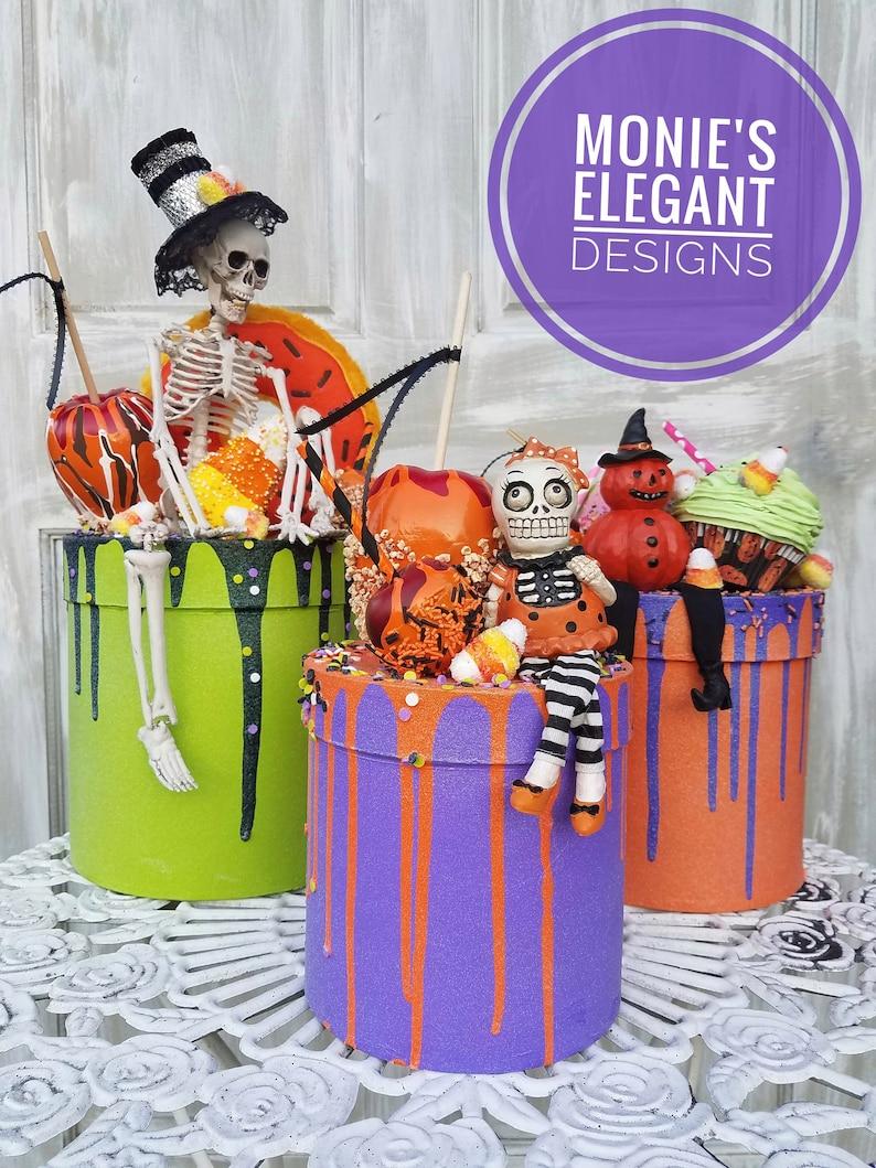Fake Drip Cake Fake Bake Halloween Drip Cake Halloween image 0