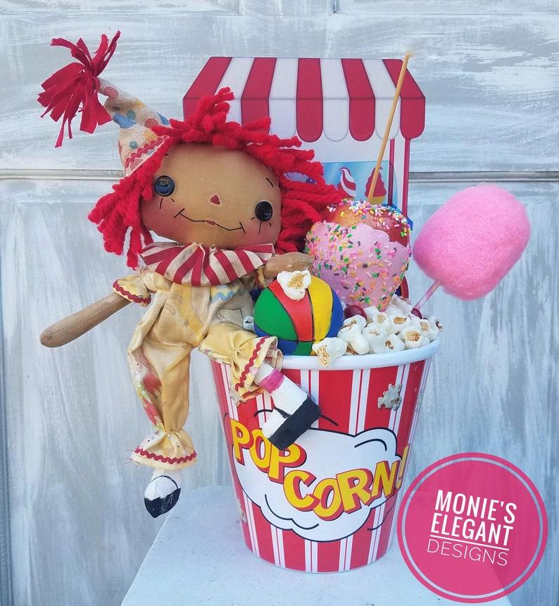 Carnival Decor Circus Centerpiece Circus Themed Party image 0