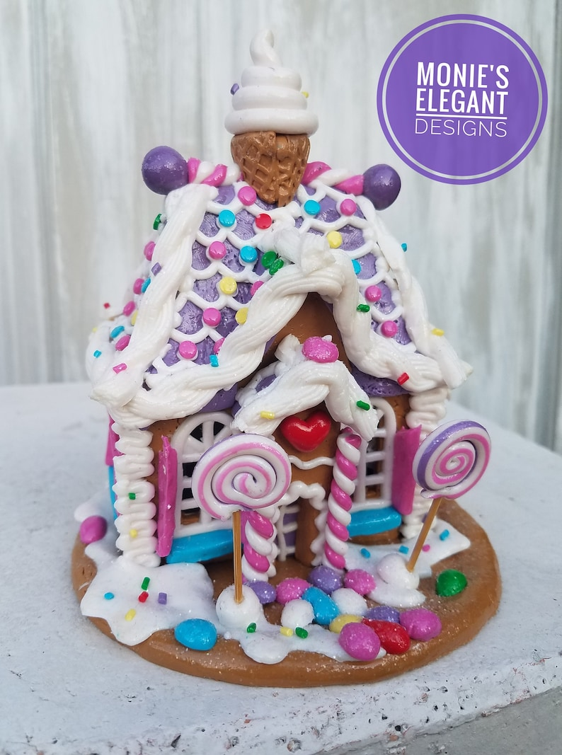 Gingerbread House Lighted Gingerbread House Gingerbread image 0