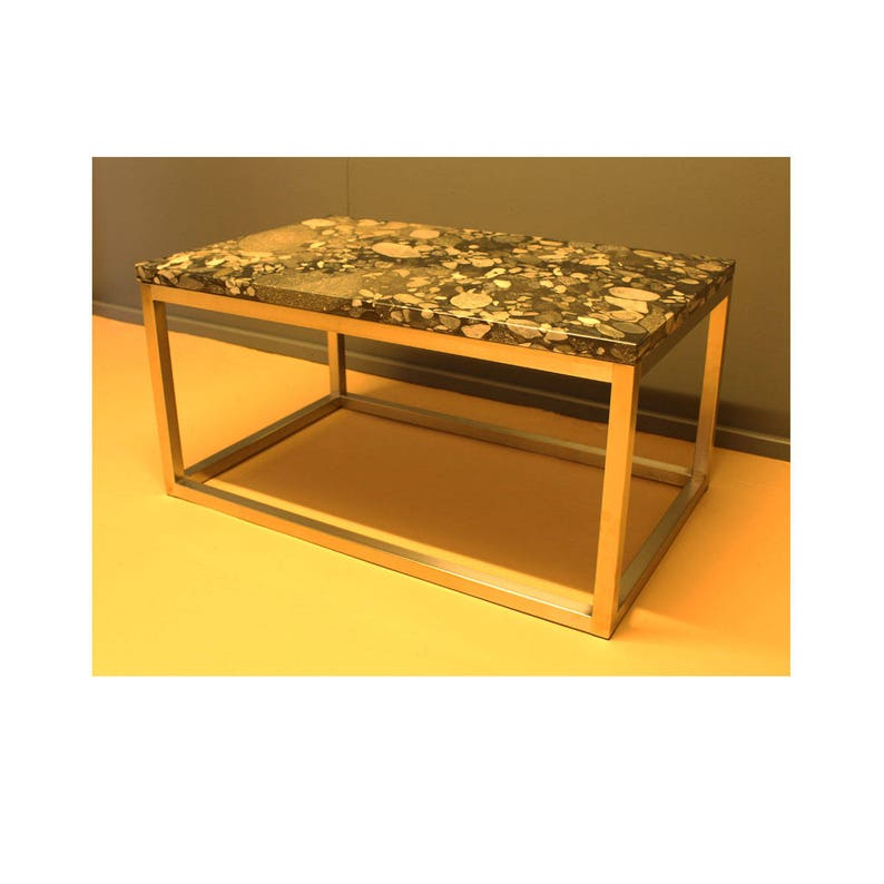 Rockfall Marble Granite Coffee Table Etsy