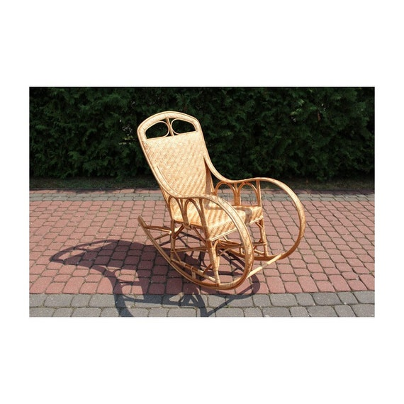 Superb Natural Beige Rocking Chair Wicker Rocking Chair Chair Wicker T For Him T For Her Spiritservingveterans Wood Chair Design Ideas Spiritservingveteransorg