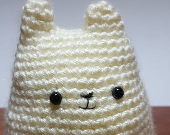 Crochet Dumpling Kitty