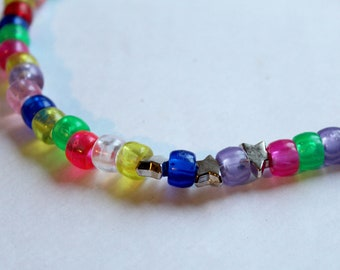 Color and Stars Choker