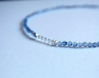 Blue Cinderella Choker