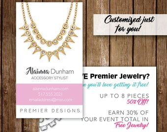 Custom graphics for your premier designs by jenniferjodesigns personalized print and digital business cards premier designs reheart Images