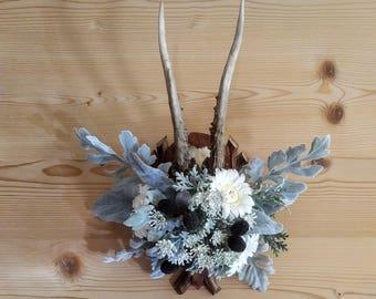 Flower Antlers Custom