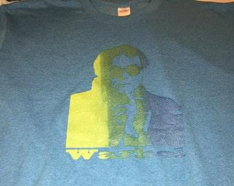 Andy Warhol light blue