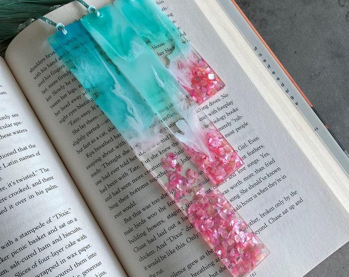 Pink Ocean Bookmark