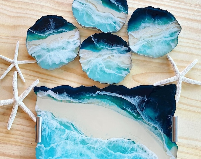 Featured listing image: Resin Tray Ocean