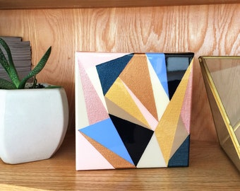 Original Geometric Abstract Painting