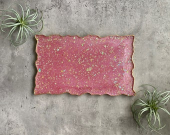 Pink Tray, Resin Tray