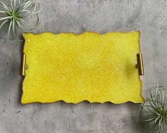 Yellow Tray, Resin Tray
