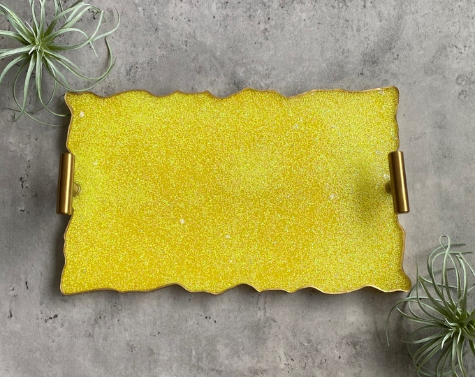 Yellow Tray, Resin Tray