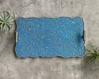 Blue Tray, Resin Tray