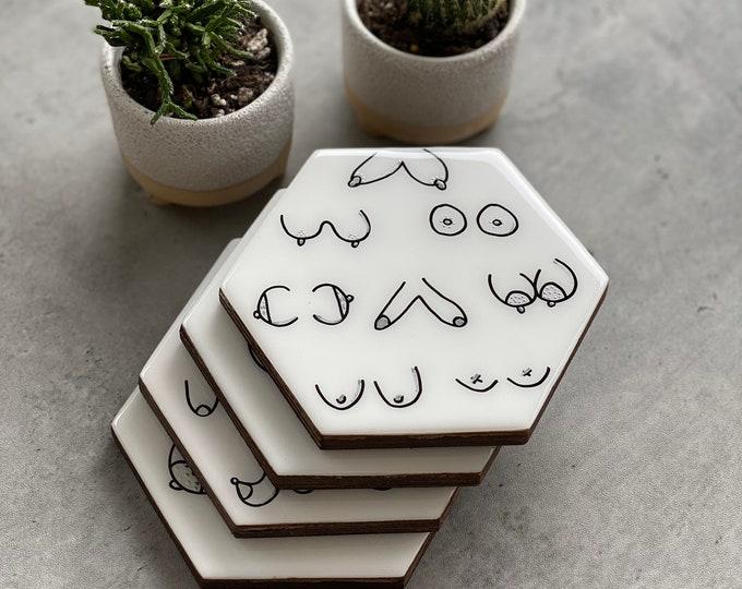 BOOB Coasters