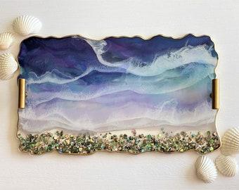Ocean Tray; 14 inch Resin Tray