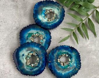 Ocean Agate Coasters