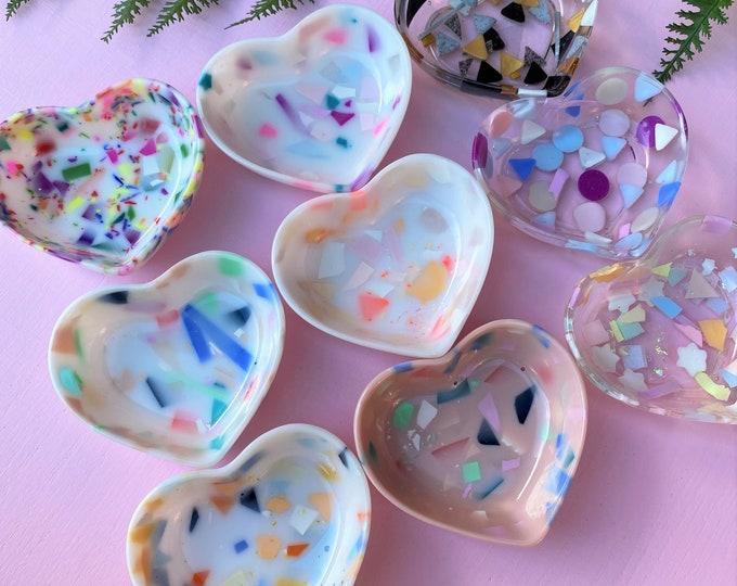 Terrazzo Heart Ring Dish