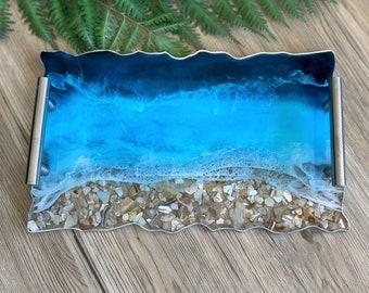 Resin Tray Ocean
