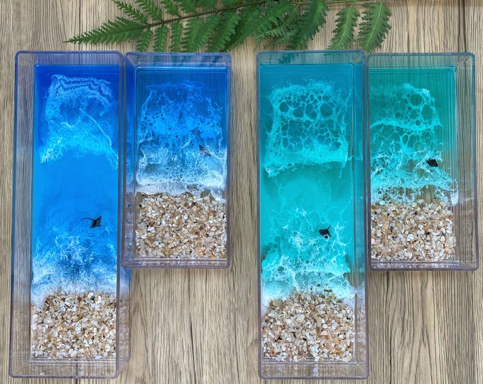 Ocean Tray; Clear Organizer